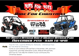 Toys for Tots. November 14